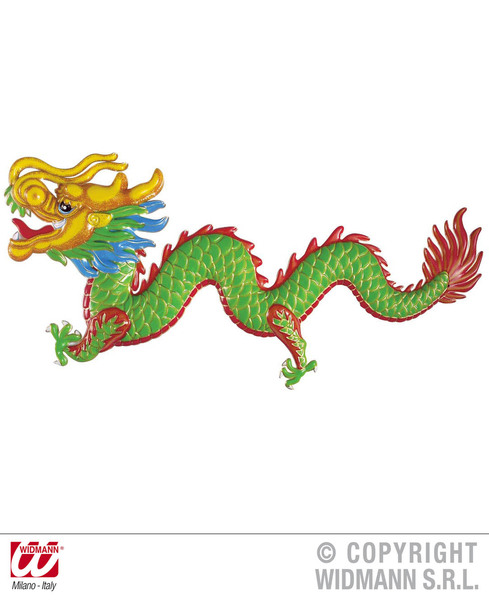 3D ORIENTAL DRAGON DECORATION 100x42cm