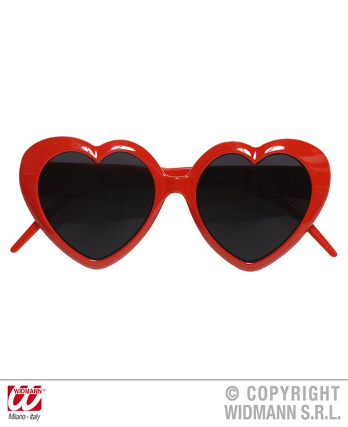 GLASSES LOLITA RED HEART