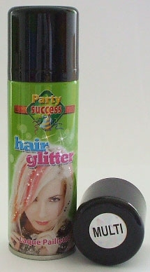 HAIRSPRAY 125ml GLITTER MULTI