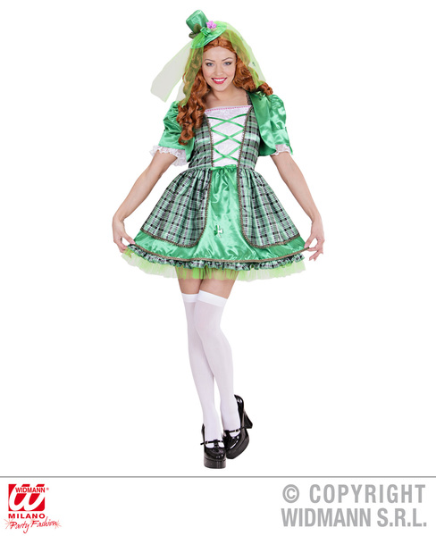 IRISH GIRL (dress jacket mini hat)