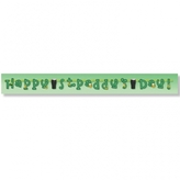 Happy St Paddys Day Letter Banner