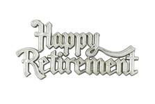 Cake Decoration Happy Retirement