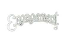Cake Decoration Engagement Motto