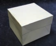 Cake Box 8inch Stapleless With Lid