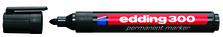 Permanent Black Marker Bullet Tip 300
