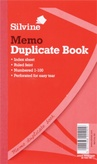 Duplicate Book Ruled Feint 8x5