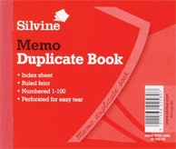 Duplicate Book Ruled Feint 5x4