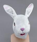 White Rabbit Full Head Mask