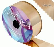 Florist Ribbon Metallic Gold 50mm X 25mts