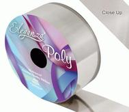 Florist Ribbon Metallic Silver 50mm X 25mts