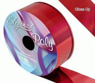 Florist Ribbon Metallic Red 50mm X 25mts