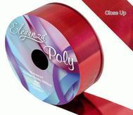 Florist Ribbon Metallic Red 50mm X 25mts