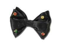 Flashing Bow Tie Black