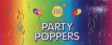 Party Poppers Box Of 100