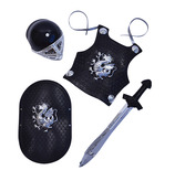 Black Knight Armour Set Childs