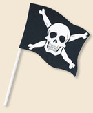 Flag 6x4 Pirate