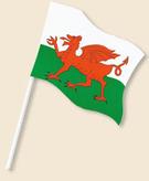 Flag 6x4 Wales