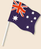 Flag 6x4 Inches Australia