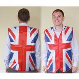 Union Jack Waistcoat Rwb Fabric Std Size