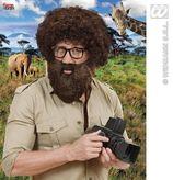 Character Beard W/Tash Brown