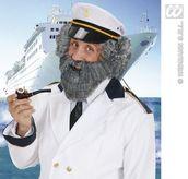 Character Beard W/Tash Grey