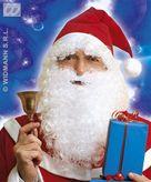 Santa Claus Hat With Hair & Beard