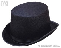 Big Felt Topper Hat Black