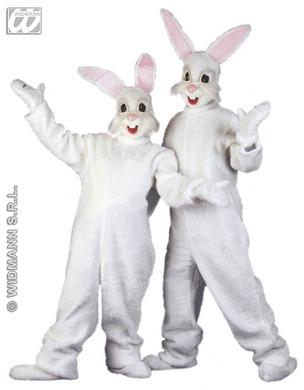 Bunny Plush Adult Costume (One Size)