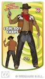 Cowboy Chaps Brown Adult