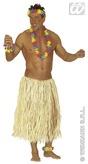Straw Raffia Hawaiian Skirt