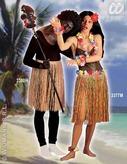 Multicolour Hawaiian Skirt