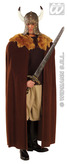 Brown Warrior Cape Adult (140cm)