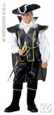 Captain Black Child Costume (8 10yrs)