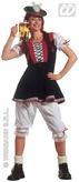 Bavarian Lady Adult Costume (Xl)