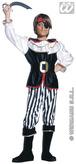 Classic Pirate Boy Child Costume (8 10yrs)