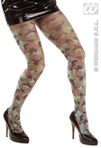 Adult Camouflage Tights (One Size)