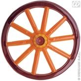 3d Caravan Wheel Pvc