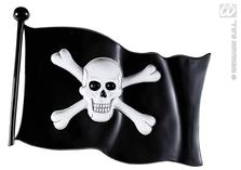 Pirate Flag Plastic