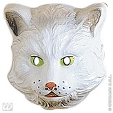 Cat Mask Child Plastic