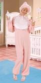 Baby Girl Adult Costume (Xl)