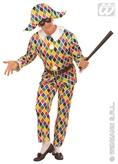 Classic Harlequin Adult Costume