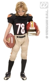 American Football Player Child Costume