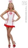 Nurse Lycra Adult Costume