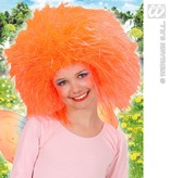 Child Fairy Wig  Orange