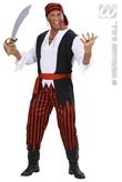 Caribbean Pirate Adult Costume