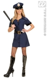 Deluxe Police Girl Adult Costume
