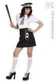 British Police Girl Adult Costume