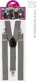 Silver Lurex Braces