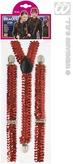 Red Sequin Braces