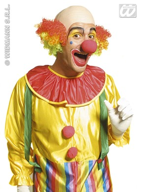 Clown Baldhead Multicolour Deluxe